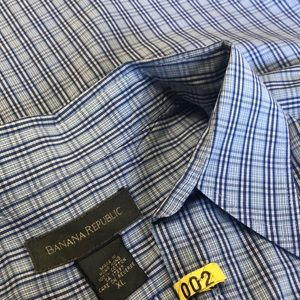 🌟BANANA REPUBLIC XL-men's button down shirt